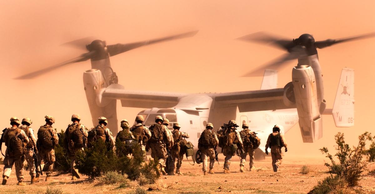 U.S. Marines in Syria. Target...  Raqqa