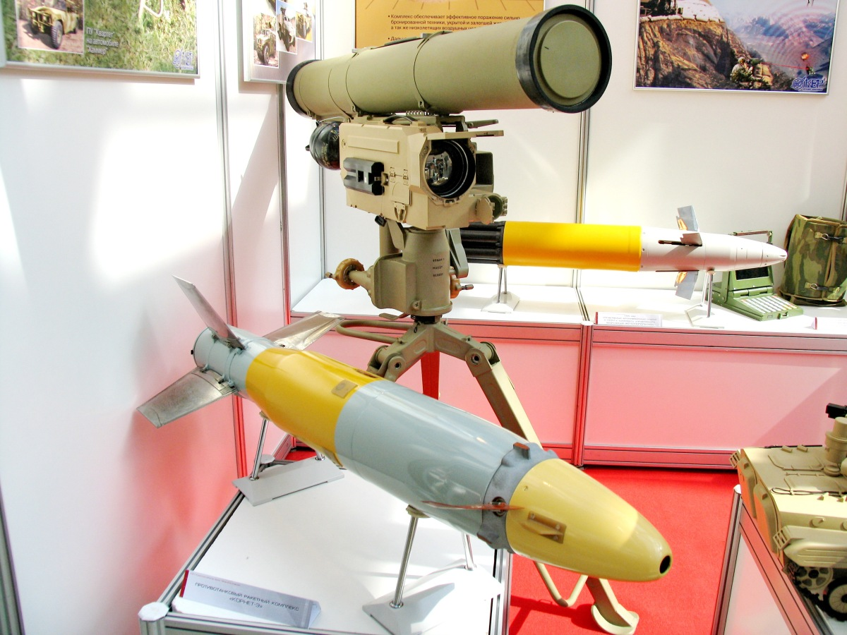 Video: The 9M133 Kornet Russian Anti Tank Missile System