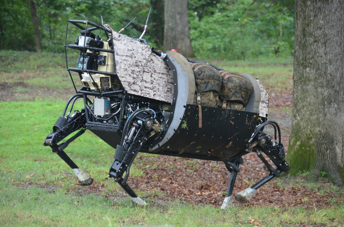 U.S. Military Testing Human and Robot Combat Squads